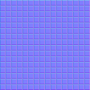 square normal map